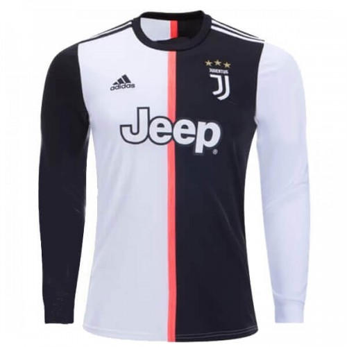 Juventus Home Long Sleeve Football Shirt 1920