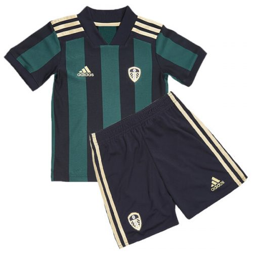 Leeds United Away Kids Football Kit 20 21