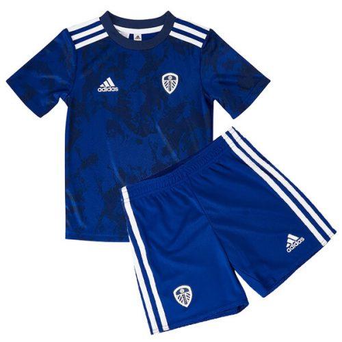 Leeds United Away Kids Football Kit 21 22