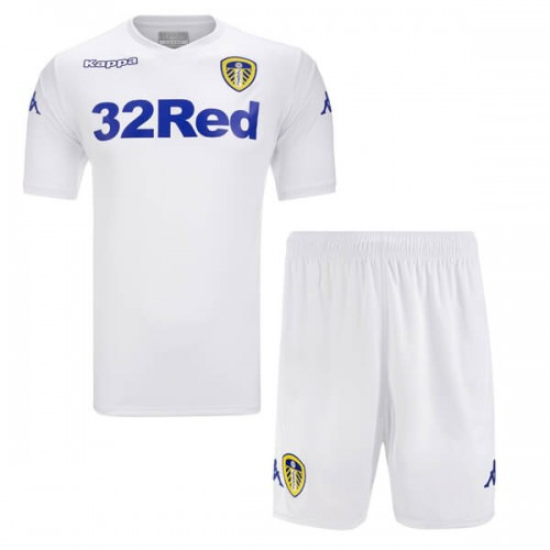 Leeds United Home Kids Football Kit 18 19