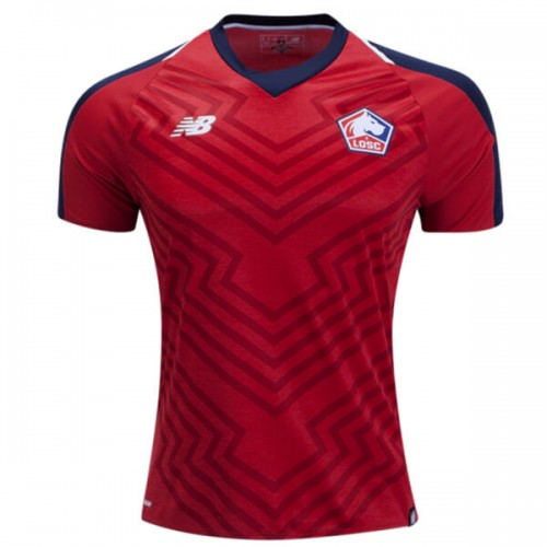 Lille Home Football Shirt 18 19
