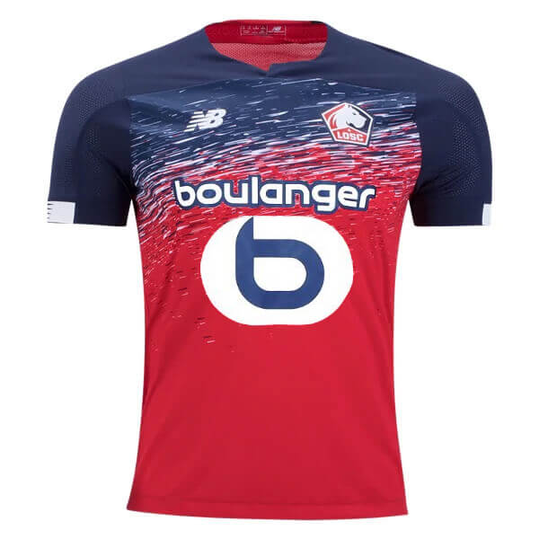 huge selection of 0cfd5 3c106 Lille OSC Home Football Shirt 19/20