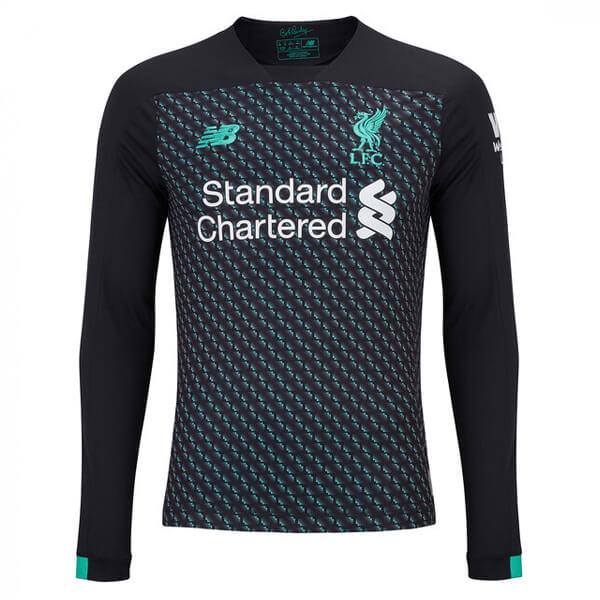 huge sale 6623d ad65e Liverpool Third Long Sleeve Football Shirt 19/20
