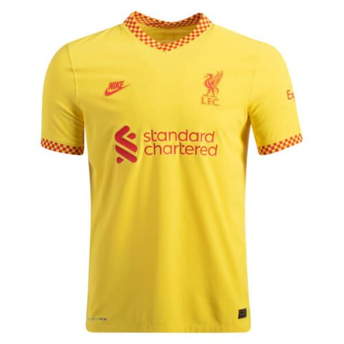 Liverpool Third Player Version Football Shirt 21 22