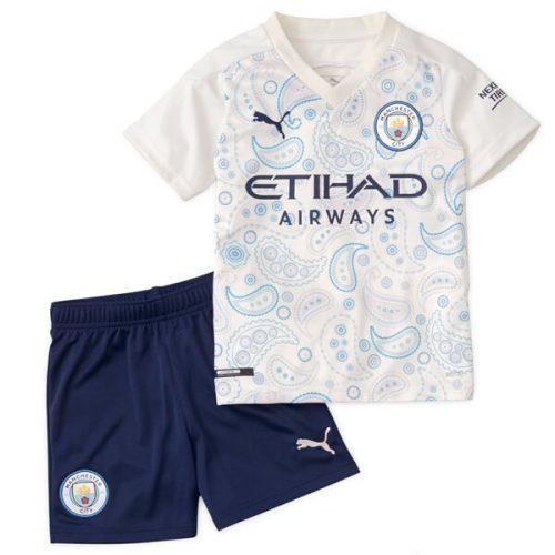Manchester City Third Kids Football Kit 20 21