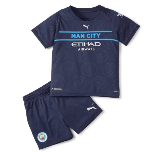 Manchester City Third Kids Football Kit 21 22