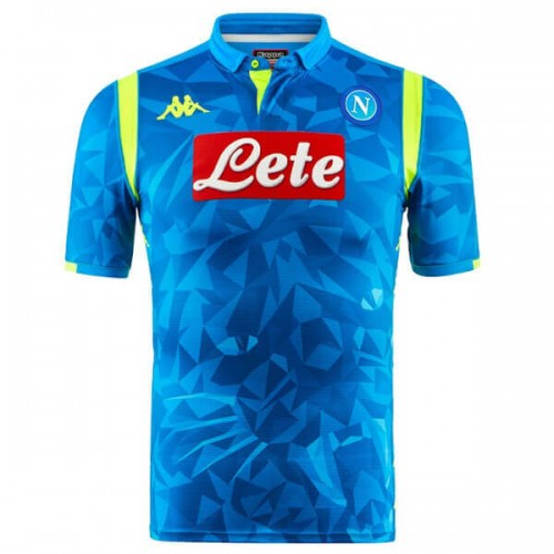 Napoli Home UCL Football Jersey 18 19