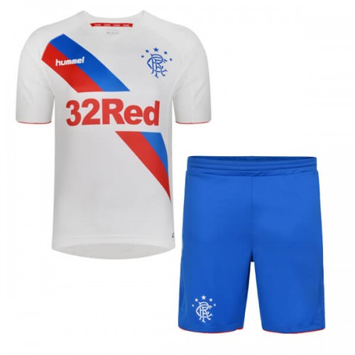Rangers Away Kids Football Kit 18 19