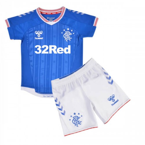 Rangers Home Kids Football Kit 1920