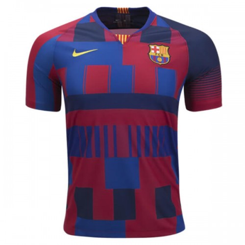 Barcelona 20th Anniversary Home Football Shirt 18 19