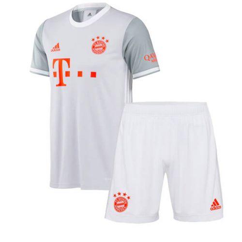 Bayern Munich Away Kids Football Kit 2021
