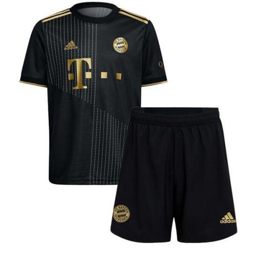 Bayern Munich Away Kids Football Kit 21 22