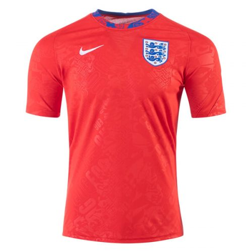 England Pre Match Training Soccer Jersey