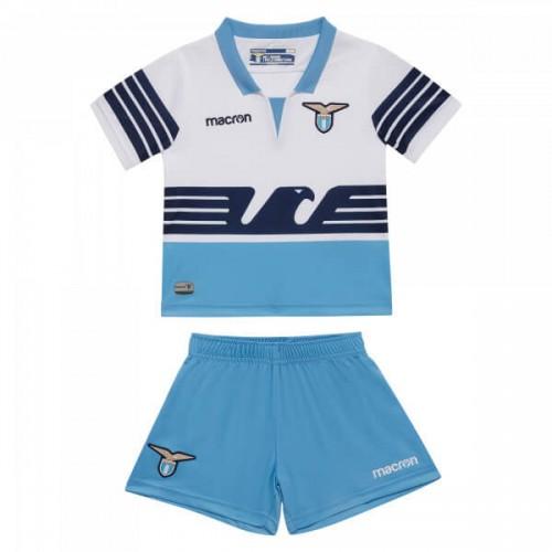Lazio Home Kids Football Kit 18 19