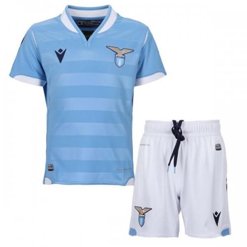 Lazio Home Kids Football Kit 19 20