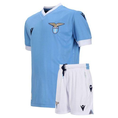 Lazio Home Kids Football Kit 21 22