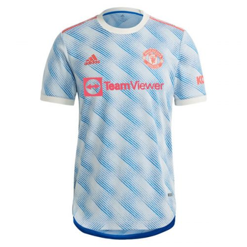 Manchester United Away Player Version Football Shirt 21 22
