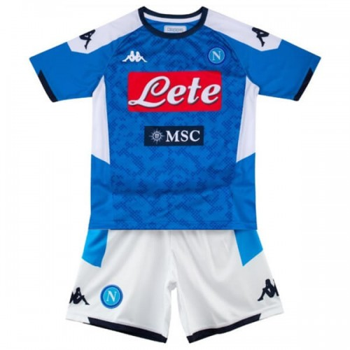 Napoli Home Kids Football Kit 19 20