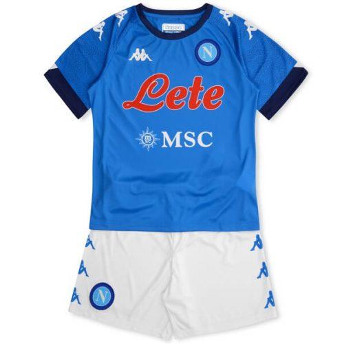 Napoli Home Kids Football Kit 20 21