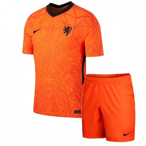 Netherlands Home Kids Football Kit 2020