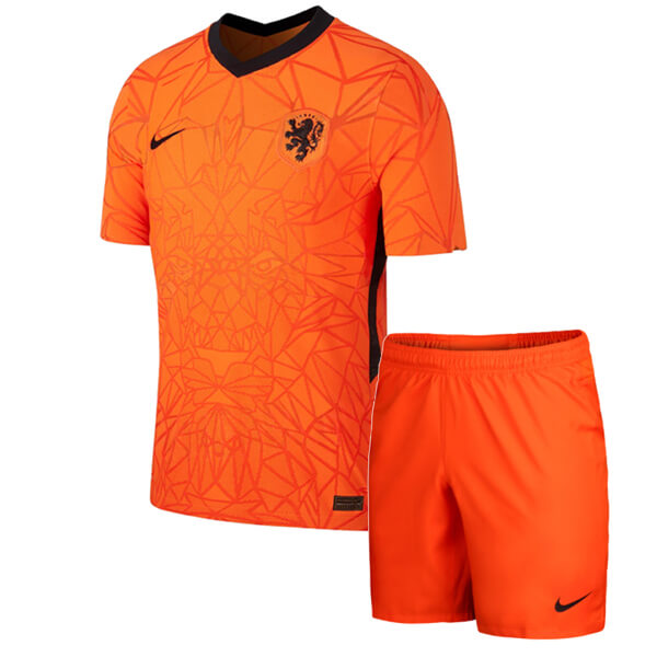 Netherlands Home Kids Football Kit 2020