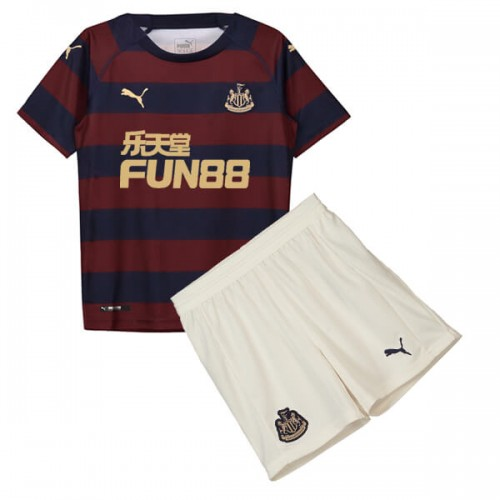 Newcastle Away Kids Football Kit 18 19