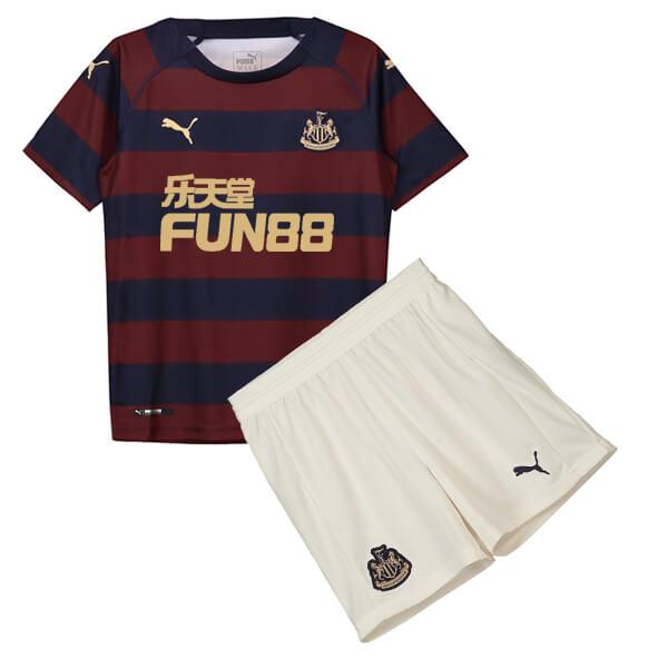 Newcastle United Away Kids Football Kit 18 19 - SoccerLord edb54520a