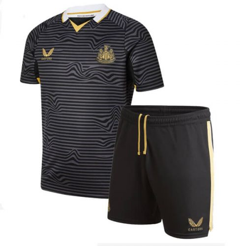 Newcastle United Away Kids Football Shirt 21 22