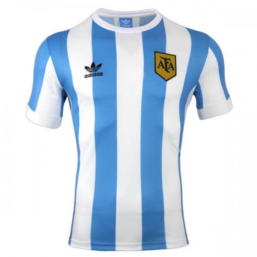 Retro Argentina Home Football Shirt 1978