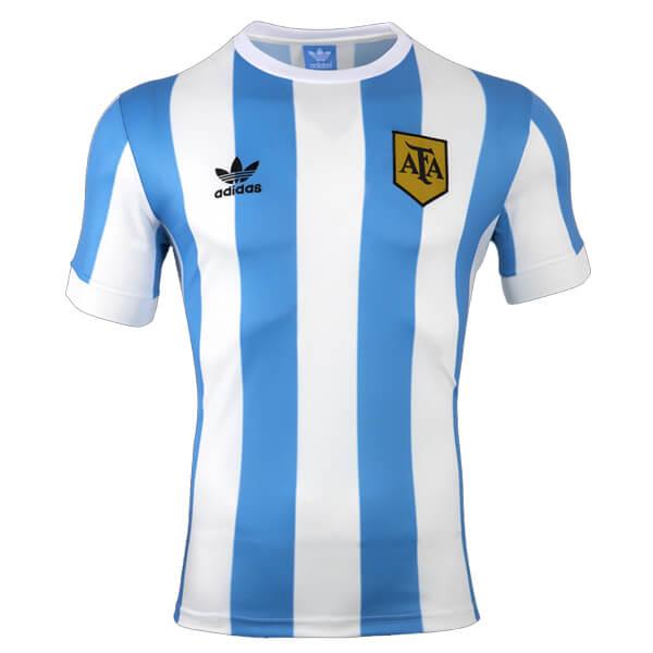 new arrival 5ac1a 53409 Retro Argentina Home Football Shirt 1978