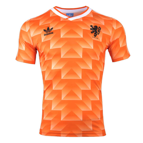 buy popular 22b5c 879f7 Retro Netherlands Home Football Shirt 1988