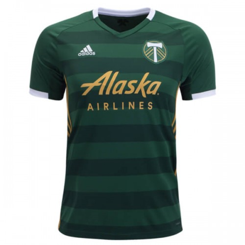 Portland Timbers Home Soccer Jersey 2019