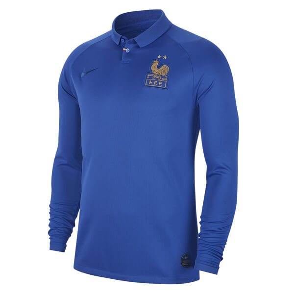 France Home Long Sleeve Centennial Soccer Jersey