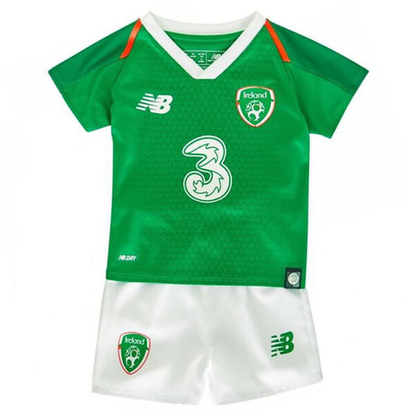 timeless design 32d7f 338a9 Ireland 2018-19 Home Kids Football Kit
