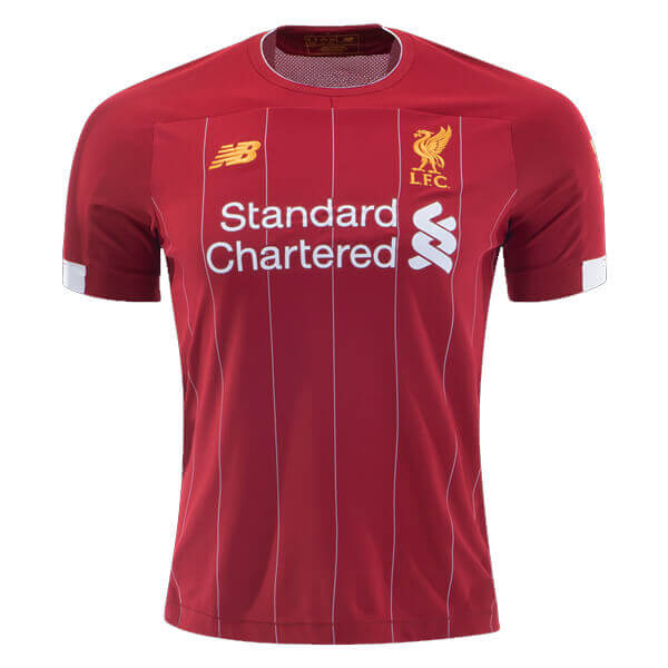 best service 58400 5343f Liverpool Home Football Shirt 19/20