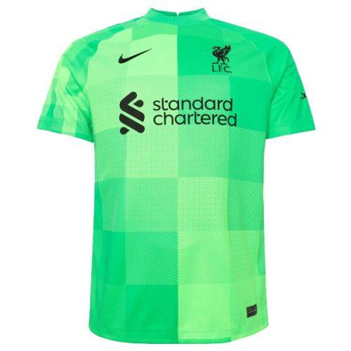 Liverpool Home Goalkeeper Football Shirt 21 22