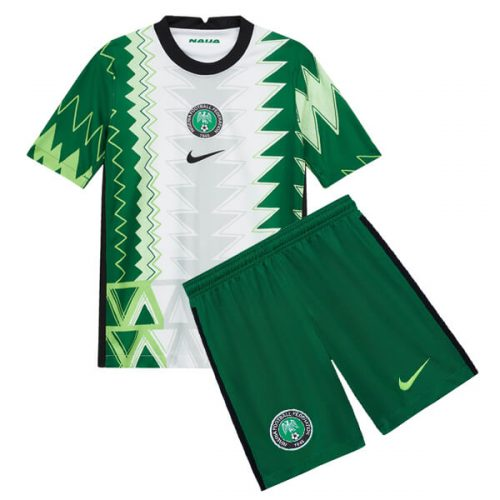 Nigeria Home Kids Football Kit 20 21