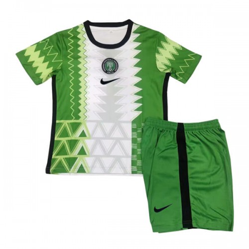 Nigeria Home Kids Football Kit 2020