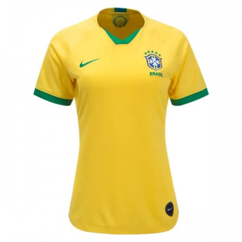 Brazil 2019 Women's Home Football Shirt