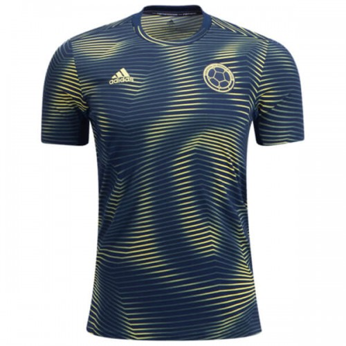 Colombia Pre Match Training Soccer Jersey 2019