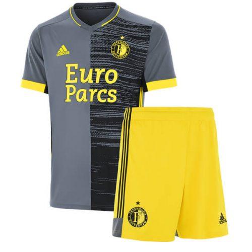 Feyenoord Away Kids Football Kit 21 22