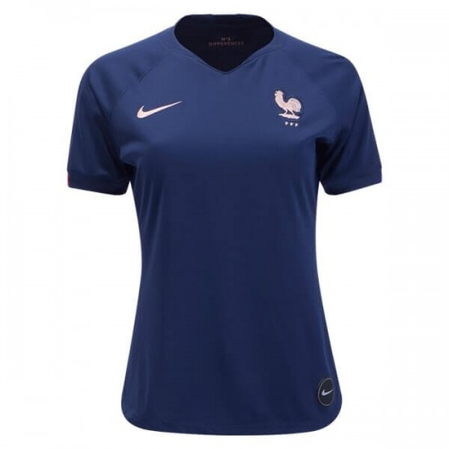 France 2019 Womens Home Football Shirt