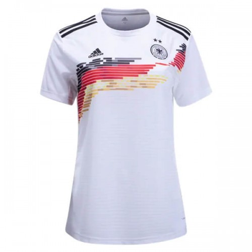 Germany 2019 Womens Home Football Shirt