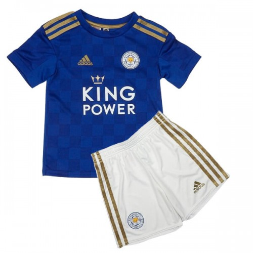 Leicester City Home Kids Football Kit 19 20
