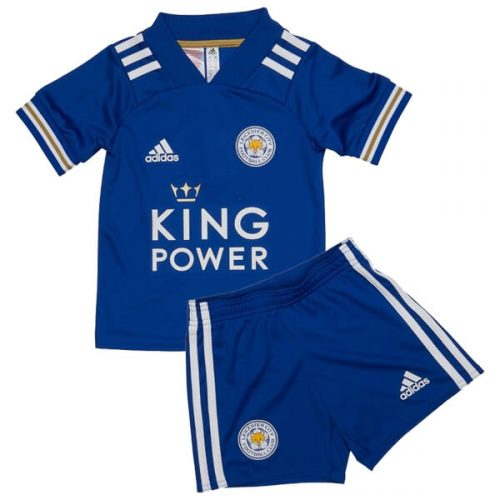 Leicester City Home Kids Football Kit 20 21