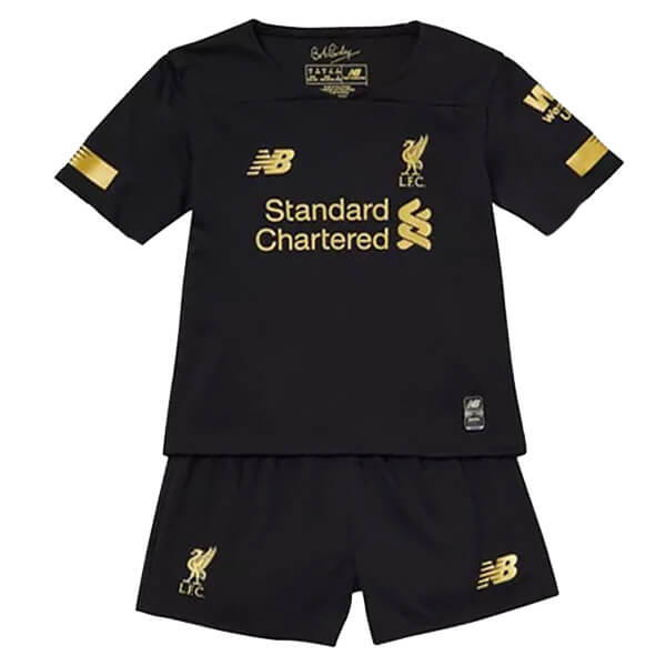 Liverpool Home Kids Goalkeeper Kit 19 20