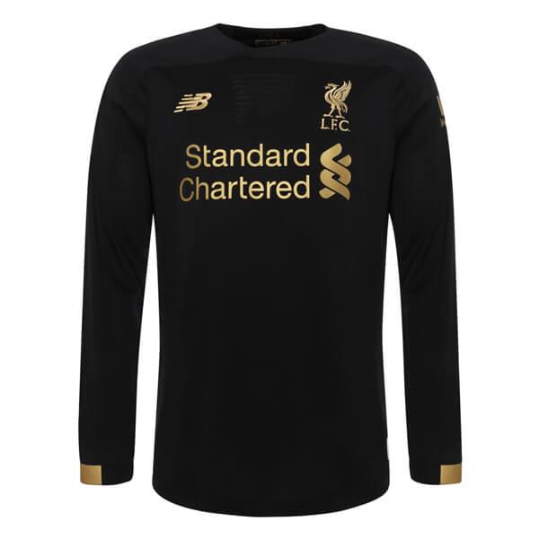 best website dc578 c6ec7 Liverpool Home Long Sleeve Goalkeeper Football Shirt 19/20