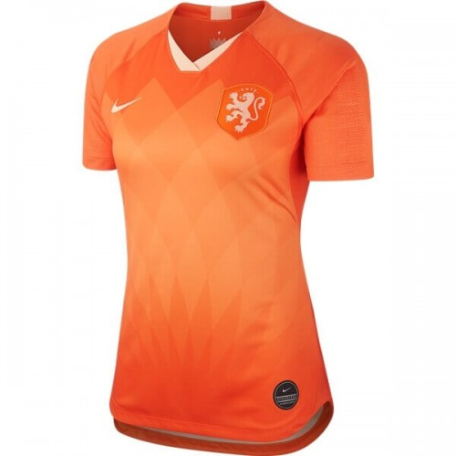 Netherlands 2019 Women's Home Football Shirt