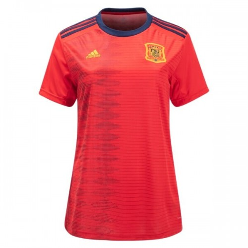 Spain 2019 Women's Home Football Shirt