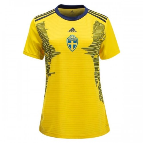 Sweden 2019 Women's Home Football Shirt
